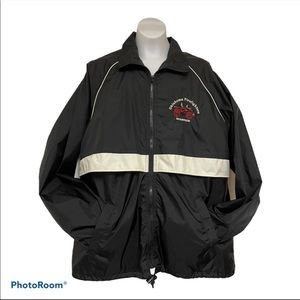 Firefighters museum jacket full zip small unique
